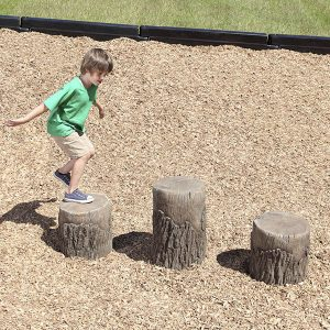 Playground Tree Stumps Age 2 - 5