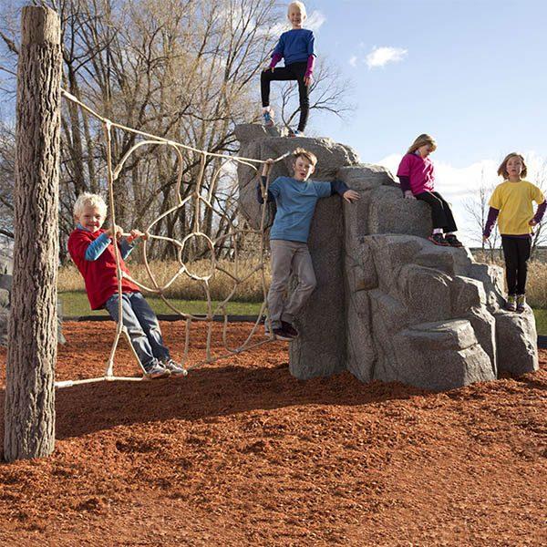 Spider Mountain Granite Climbing Boulder Set
