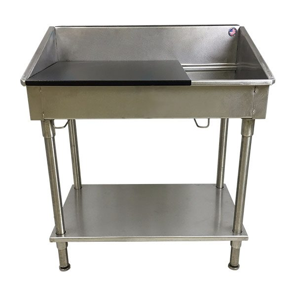 Stainless Steel Shallow Utility Sink
