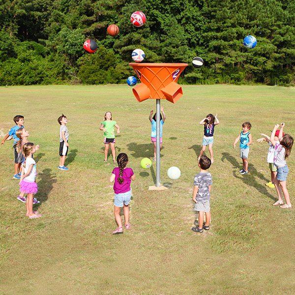 Triple Shoot Funnel Ball Game