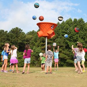 Triple Shoot Funnel Ball Game
