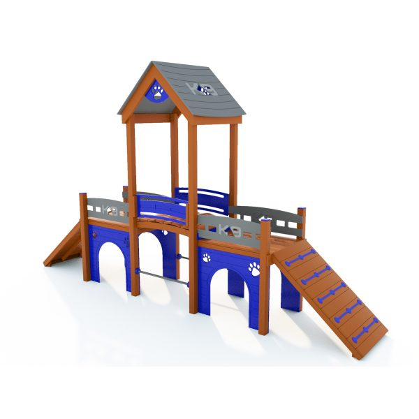 K9 Kennel Club Playground with Rattle Bridge