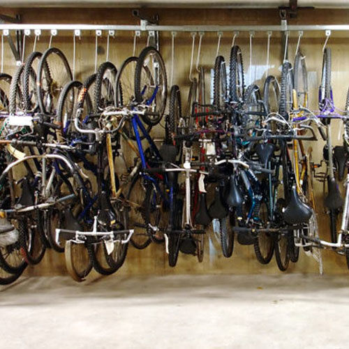 Bike Track Rack System