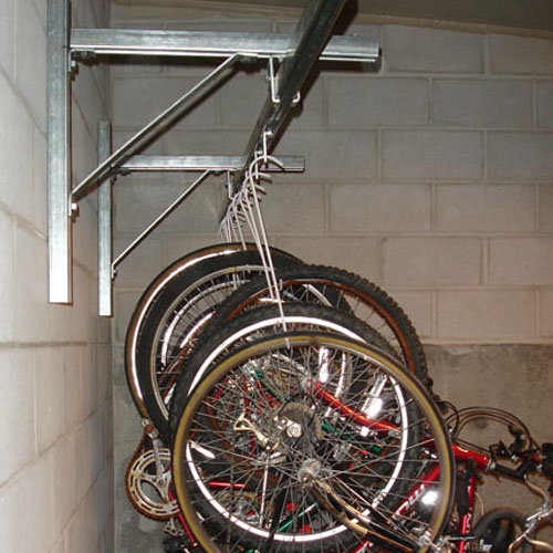 Bike Track Rack Wall Mount