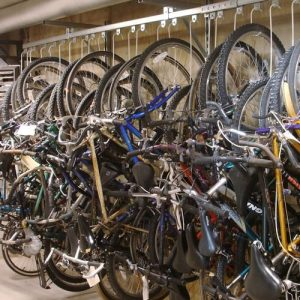 Bike Track Racks