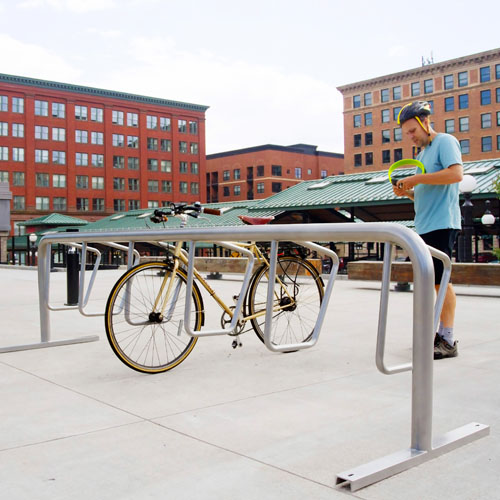 Campus Bike Rack System