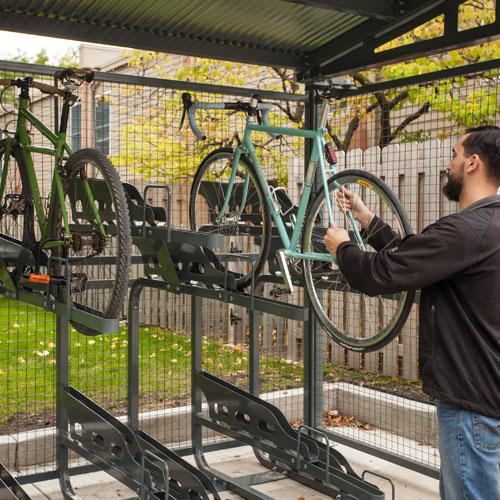 Dero Duplex Bike Racks