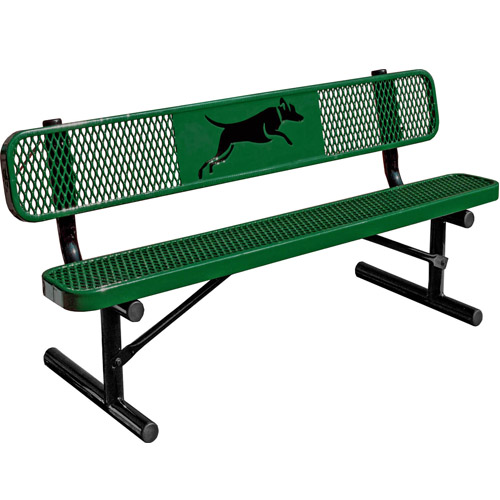 Dog Park 6ft Bench