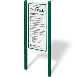 Dog Park Rules Sign