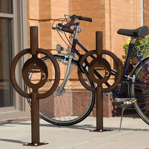 Icon Hitch Bike Rack Brown