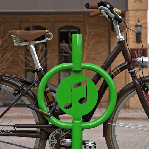 Icon Hitch Bike Rack Green