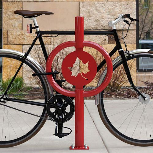 Icon Hitch Bike Rack Red