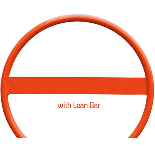 Round Bike Rack Lean Bar