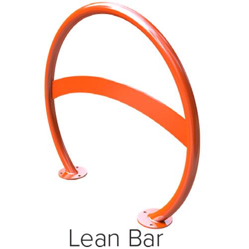 Round Bike Racks Lean Bar
