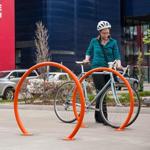 Round Bike Racks