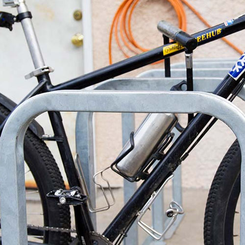 U-Lockit Bike Rack Galvanized
