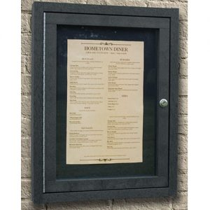 menu enclosure