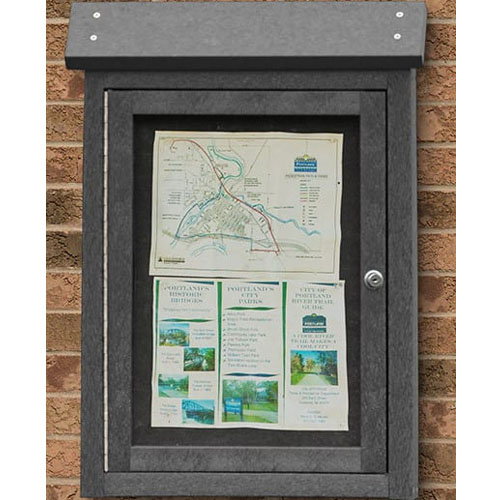 Small Wall Mount Message Center