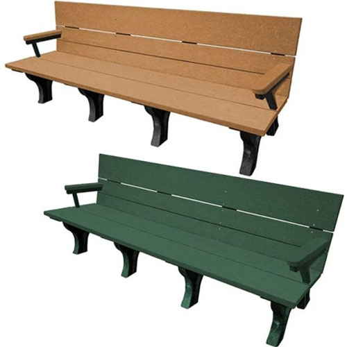 Traditional ADA Park Benches