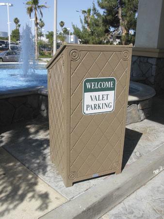 Recycled Plastic Podium