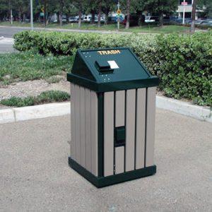Animal Proof Trash Receptacle