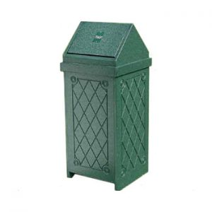 22 Gallon Swing Top Trash Container (Large)