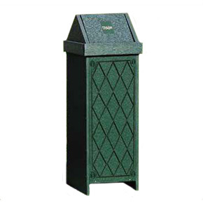 Swing Top Trash Container (Small)