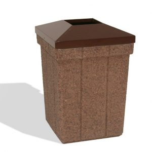 28 Gallon Trash Receptacle