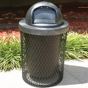 32 Gallon L Series Trash Receptacle