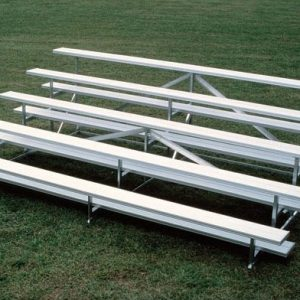 5 Row Bleachers