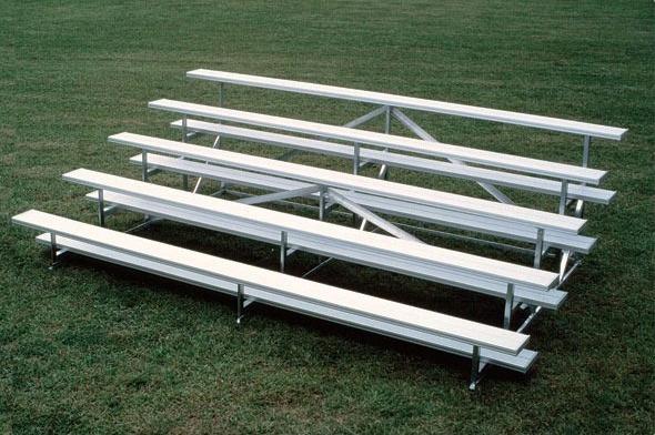 5 Row Bleachers