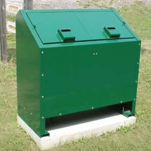 Animal Resistant Trash Receptacles and Storage