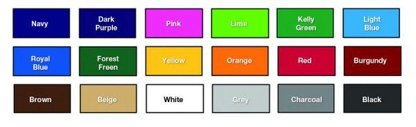 Bleacher Pad Colors