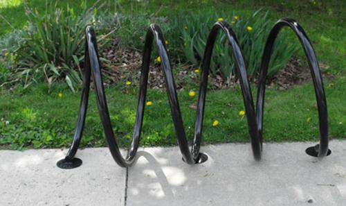 Coil Bike Rack