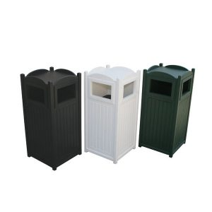 22 Gallon Greenwood™ Recycled Plastic Trash
