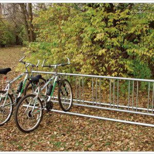 Double Entry Bike Rack