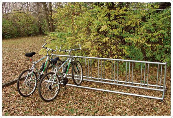 Double Entry Bike Rack