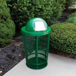 48 Gallon Expanded Metal Receptacles