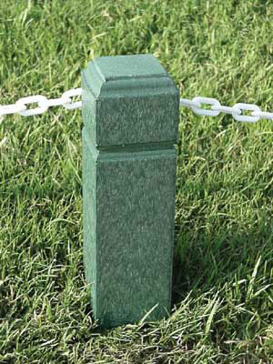 4 Inch X 4 Inch Rope Stakes - Capitol Top