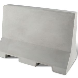 "Flat Top 48"" Concrete Security/Traffic Barrier"