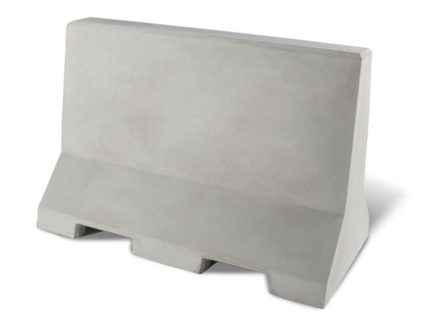 """Flat Top 48"""" Concrete Security/Traffic Barrier"""