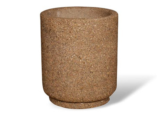 31″ Round Concrete Planter