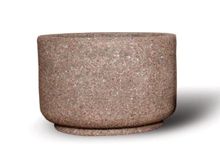 "36"" Round Concrete Planter"