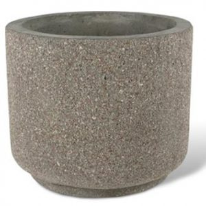"Heavy Duty 36"" Round Concrete Planter"