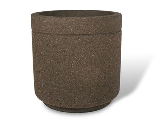 """Super Duty 36"""" Round Concrete Planter"""
