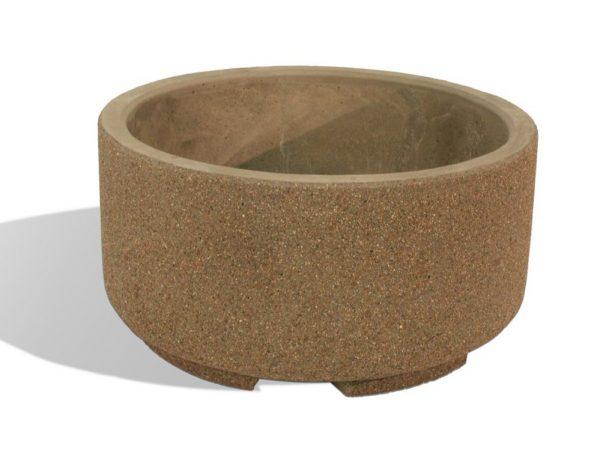 "48"" Round Concrete Planter"