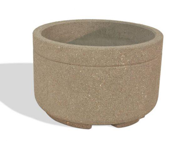 """Heavy Duty 48"""" Round Concrete Planter"""