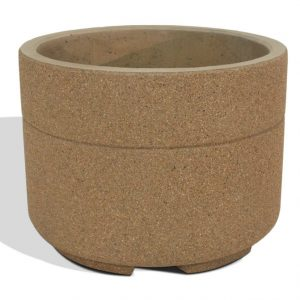 "Super Duty 48"" Round Concrete Planter"