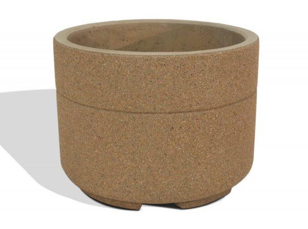 """Super Duty 48"""" Round Concrete Planter"""
