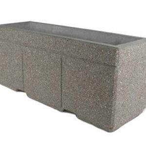 "Super Duty 72"" Rectangular Concrete Planter"